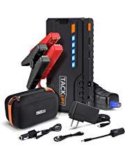 TACKLIFE Car Jump Starter - Peak Auto Battery Jumper (up to gas diesel) Battery Booster with Quick-charge Portable Power Pack for Cars Truck SUV UL Certified Diesel Cars, Diesel Engine, Suv Reviews, Automotive Sales, Automotive Tools, Car Starter, Amazon Sale, Amazon Fr, Amazon Today