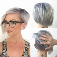 Maybe haircut???? I kind of like it SELFIE: Titanium and Undercuts love this color!