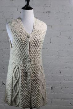 Coop Barneys New York Women's Beige Wool Nylon Tunic Dress L #CoopBarneysNewYork #Tunic #Casual
