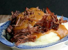 Pressure Cooker Pot Roast - I wish I was eating this right now