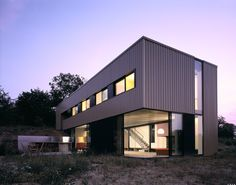 Industriel Façade by Architectures Stéphane DELIGNY