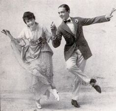 Fred and Adele - vaudeville dancers in 1915 and you know them from movies...they made that transition