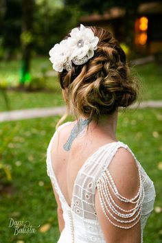 Julia Mario ♡ Bernardo by Dani Batista Beautiful Bride, Brides, Mario, Backless, Dresses, Fashion, Weddings, Engagement, Gowns