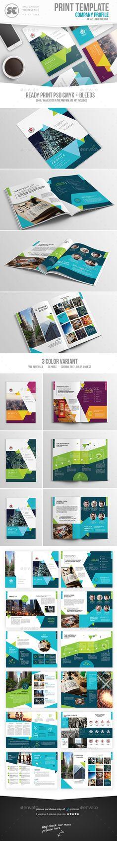 Company Profile Pinterest Company profile, Corporate brochure