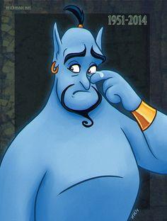Genie by Greykitty.deviantart.com on @deviantART RIP Robin Williams