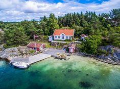 Søgne- Risøya - BUD MOTTATT! Vakker og unik strandeiendom med moderne hytte. Lagune og sandstrand.   FINN.no