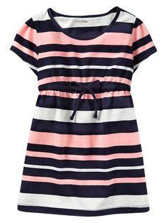 Gap | Striped tie dress