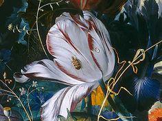 jan van huysum, still life with flowers and fruit (detail) Dutch Still Life, Still Life Art, Tulip Painting, Dutch Golden Age, Dutch Artists, Paintings I Love, Vanitas, Old Art, Whimsical Art
