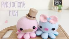 Really Cute Octopus Plush Tutorial from Flying Mio  I'm so going to make this! *__*