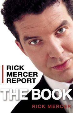 Rick Mercer Report: The Book, by Rick Mercer.