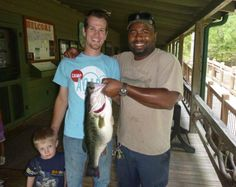 25 inch, 9.5 pound Bass caught by Tavares Land and his brother in law at Oconee State Park!