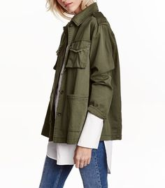 15+Updated+Army+Jackets+to+Replace+Your+Old+One+via+@WhoWhatWear