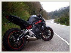Kawasaki ER6N Matte Black