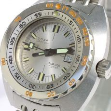 Best Women's Dive Watches – DOXA NOS SUB 200T Nymph