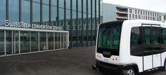 Busy bez kierowcy wjeżdżają do kolejnych państw Last Mile, Lausanne, Transportation, Business, Hot