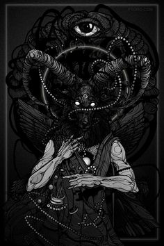 Unique looking baphoment art Mehr