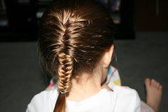 Girly Do Hairstyles: By Jenn: Fish bone braid