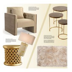 """Beige Living Room"" by kathykuohome ❤ liked on Polyvore featuring interior, interiors, interior design, home, home decor, interior decorating, living room, livingroom, Home and homeset"