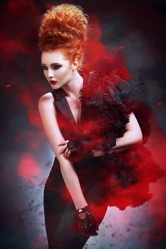 IAN MCMANUS - Fashion photography - Natural Disasters - Volcano concept ideas