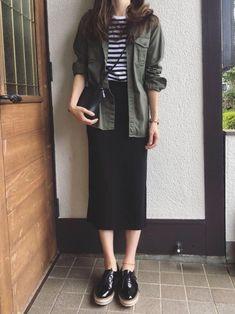 Charming Casual Dress Ideas To Fashion Your Revamp Around – Hijab Fashion 2020 Modest Fashion, Skirt Fashion, Hijab Fashion, Fashion Outfits, Fashion Ideas, Fashion Clothes, Korean Outfits, Mode Outfits, Casual Outfits