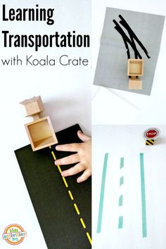 LEARNING TRANSPORTATION WITH KOALA CRATE SUBSCRIPTION BOX - Kids Activities