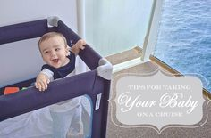 Tips for taking a baby on a cruise