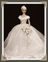 Sydney in Franklin Mint Gown