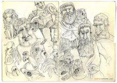 Stevee Stone _Sketchbook 2015/16