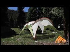 Great alone or set it up overlapping the front of your tent.