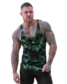 Gym Singlets, Gym Workouts For Men, Fabric Combinations, Best Gym, Workout Tank Tops, Gym Wear, Mens Fitness, Sportswear, Casual Outfits