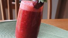 Juice Your Days - Homemade Strawberry Nectar