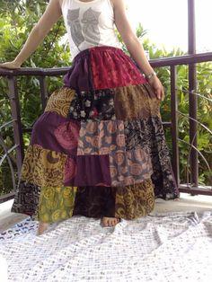 Pretty Hippy Skirt $35.00 on Etsy.com
