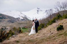 bodas de invierno - aire libre - montaña -novios - bodas en la nieve - lleida -pirineo
