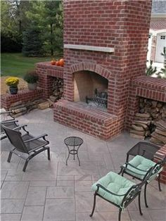 fabulous brick outdoor kitchen   Hypnotic Houston Tx Outdoor Kitchen Design With Red Brick ...