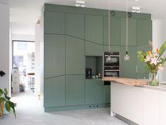 Kast Als Scheidingswand : Keuken ontworpen en op maat gemaakt door proper: een kast als