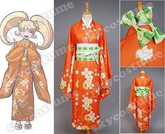 Super Danganronpa 2 Dangan-Ronpa Hiyoko Saionji Kimono Cosplay Costume - Skycostume