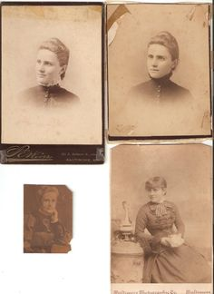 1880s Cabinet Card ID'd Mr. Wood by RH Smith, St. Albans, Vermont ...