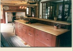 colonial kitchens | the view from here