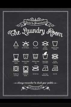 What the symbols on clothing mean how to wash them
