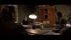 """Una Simple Formalidad"" (""Una pura formalità"", 1994). Dir.  Giuseppe Tornatore. Stars: Gérard Depardieu, Roman Polanski, Sergio Rubini."