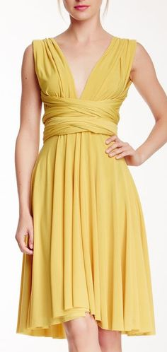 Wrap dress. Wow. I love this!