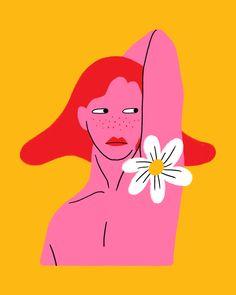 Nhung Le illustration Posca Art, Funky Art, Poster Prints, Art Prints, Posters, Feminist Art, Hippie Art, Psychedelic Art, Art And Illustration
