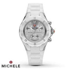 MICHELE-MWW12F000032-WOMENS-CHRONOGRAPH-SILVER-TONE-WHITE-SILICON-BAND-WATCH
