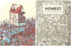 Honest ArtisanChocolate - The Dieline -