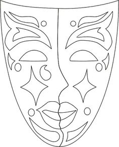 Adult coloring pages Mascara can be a cosmetic commonly familiar with help the eye Adult Coloring Pages, Colouring Pages, Coloring Books, Carnival Crafts, Carnival Masks, Theme Carnaval, Mardi Gras Decorations, Mardi Gras Beads, Mask Template