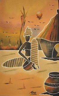 Cuadros de arena de senegal african art pinterest african cuadros de arena de senegal sciox Image collections