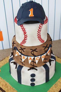 Baseball Cake Cake Decorating Pinterest Cake Birthdays and