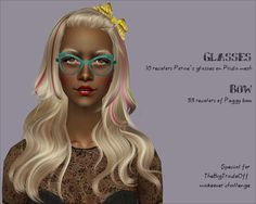 Downloads for TheBigTradeOff makeover challnge - Sims LJ