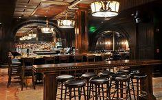Saloon. Speakeasy themed bar.