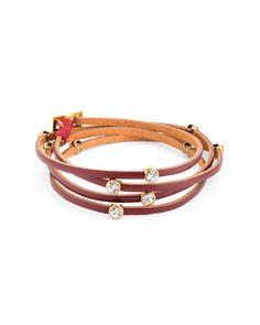 Red Remedy Wrap Bracelet